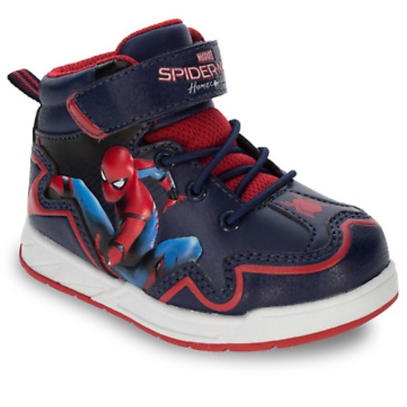 98e40cb85ae Marvel Spider-Man Toddler Boys' Hiker Boots sz 9